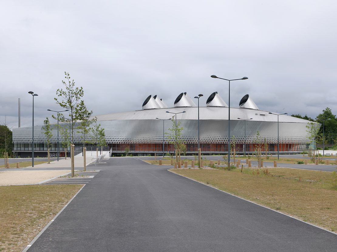 Brest Arena A Large Multi Functional Arena For Sports